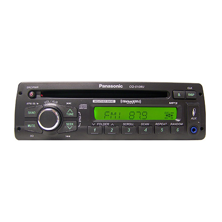 CQ5109U panasonic heavy duty am fm mp3 wb cd player sat radio ready pana pacific wiring diagram at bakdesigns.co