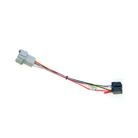 harness for delphi radio fci conn to iso wiring caterpillar pp201523