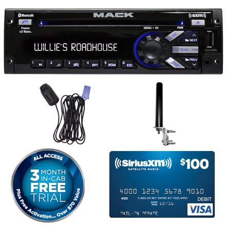 mack pp105487 radio bluetooth microphone pp604240 and satellite rh panapacific com Hummer Audio System Marshall Audio System